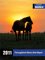 2011 Thoroughbred Mares Bred Report
