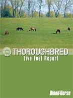 2012 Thoroughbred Live Foal Report