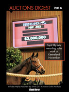 2014 Auctions Digest: A Guide to North American Thoroughbred Sales