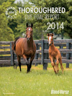 2014 Thoroughbred Live Foal Report
