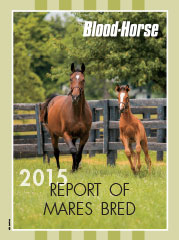 2015 Report of Thoroughbred Mares Bred