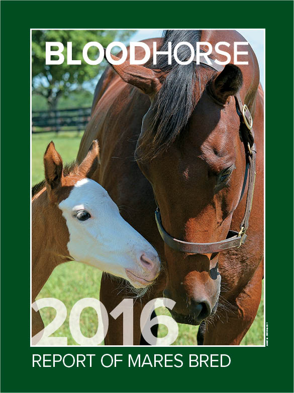 2016 Report of Thoroughbred Mares Bred
