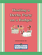 Hosting a Derby Party on a Budget