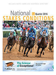 National Stakes Conditions Book 2nd Quarter 2016