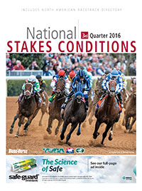 National Stakes Conditions Book 3rd Quarter 2016