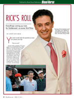 Rick's Roll: Everything's coming up roses for Goldencents' co-owner Rick Pitino