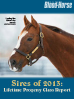 Sires of 2013: Lifetime Progeny Report
