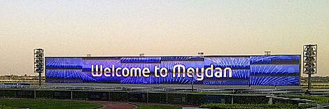 Welcome to Meydan for Super Saturday.