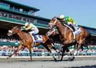 View the races and sights from the Blue Grass Stakes weekend at Keeneland.