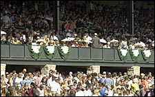 Record Crowd Sets Keeneland Handle Mark