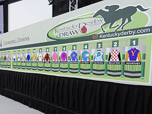 Dialed In Made Derby Favorite; Draws Post 8