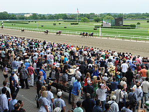 Big Attendance, Handle Totals for Belmont Day
