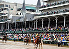 Handle Dips With Rainy Kentucky Derby Card