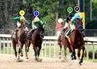 2015 Arkansas Derby Race Sequence