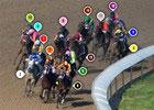 2015 Kentucky Oaks Race Sequence