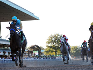 A Z Warrior wins the 2010 Frizette.