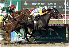Ace Blue Captures Mervyn LeRoy Jackpot