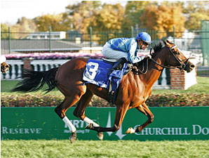 Mrs. Revere: Acoma Stays Perfect on Turf