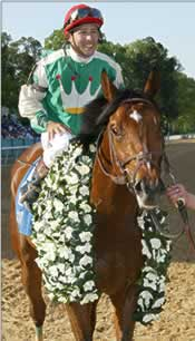 Jeremy Rose Keeps Mount on Afleet Alex for Ky. Derby