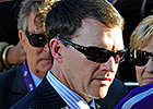 Trainer O'Brien Honored for Derby Victories