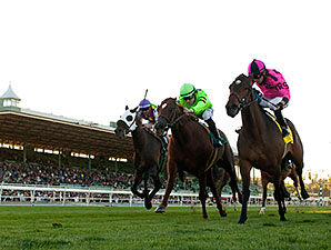 Alert Bay wins the 2014 Mathis Brothers Mile.