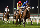 Almoonqith Wins at Meydan, Cavalryman Injured