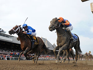 Alpha, Golden Ticket Dead-Heat in Travers