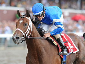 Alpha Leads 11-Horse Field for Travers