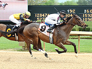 Alsvid wins the Count Fleet Sprint Handicap.