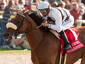 Amazombie Ramps Up Cup Push at Santa Anita