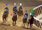 2015 Belmont Stakes Race Sequence