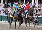 Top Three Derby Finishers Stretch Legs Monday
