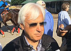 Trainer Baffert on American Pharoah's Breeze
