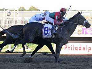 Anak Nakal wins the Pennsylvania Derby