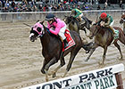 Appealing Tale Wins Kelso, Honor Code Third