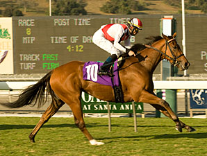 April Pride wins the 2009 Harold Ramser.
