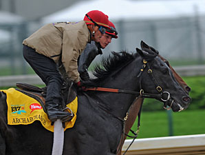 Archarcharch's Gallop Goes Down as a Workout