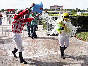 Apprentice Fontanez Pilots First Winner