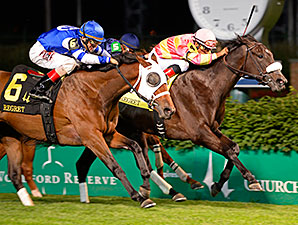 Aurelia's Belle Takes Regret Stakes on DQ