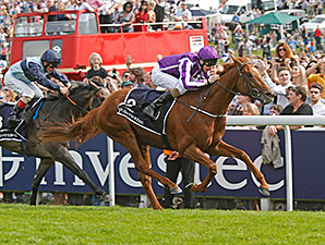 Favorite Australia Strikes in Epsom Derby