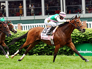 Aviate, Unbridled Humor Lead Noble Damsel