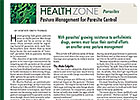 Health Zone: Pasture Management and Parasites