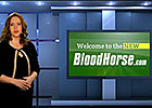BloodHorse.com Horizontal Navigation: Racing Tab