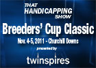 THS: 2011 Breeders&#39; Cup Classic