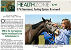 Health Zone: EPM Treatment, Testing Reviewed