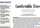 Southwest Regional: Comfortable Shave