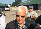 Trainer Baffert, on American Pharoah's Breeze