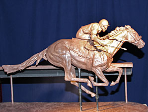 King Selected to Create Barbaro Statue