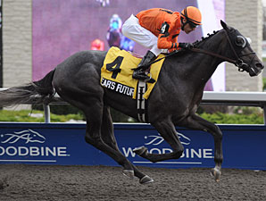 Bear's Future wins the 2010 Swynford Stakes.