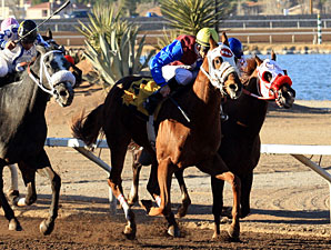 Beau Wizer wins the 2011 Pepsi Cola Stakes.
